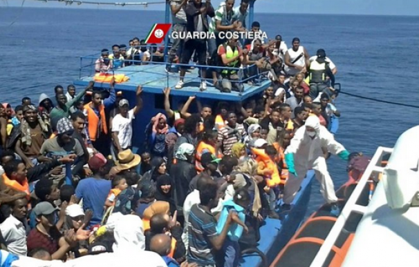 Ya son 82 los migrantes muertos en el naufragio de dos barcos en Libia