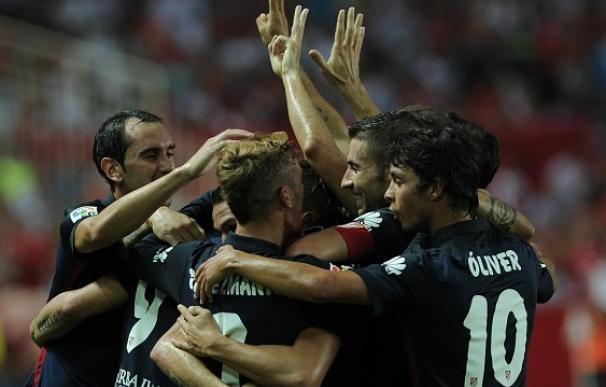 El Atlético de Madrid dio un golpe sobre la mesa en Sevilla.