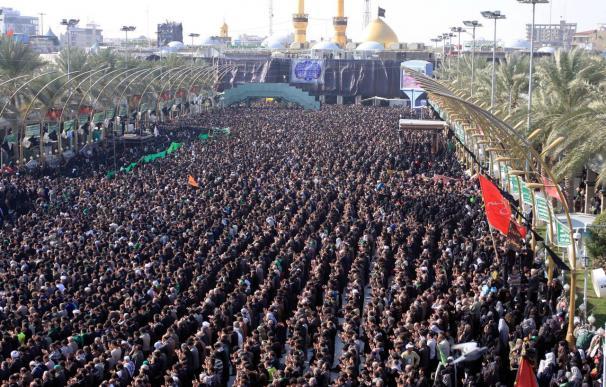 Millones de chiíes celebran Al Arbaín bajo duras medidas de seguridad en Irak