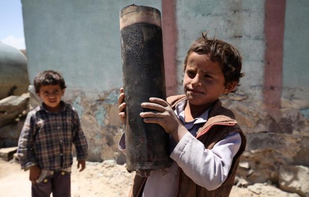 UNICEF denuncia que cada día ocho niños son asesinados o mutilados en Yemen