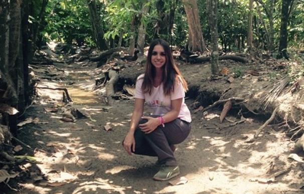 Elena Furiase nos muestra vía Instagram, su viaje solidario a Ecuador