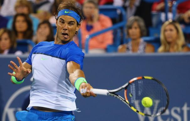 CINCINNATI, OH - AUGUST 20: Rafael Nadal of Spain