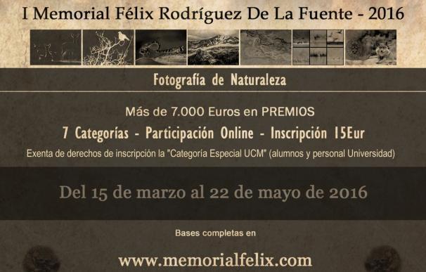 Convocan por primera vez un concurso de fotografía de naturaleza en homenaje a Félix Rodríguez de la Fuente
