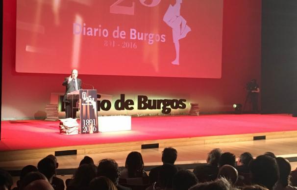 """Herrera destaca la trayectoria de Diario de Burgos como la """"historia de un éxito"""""""