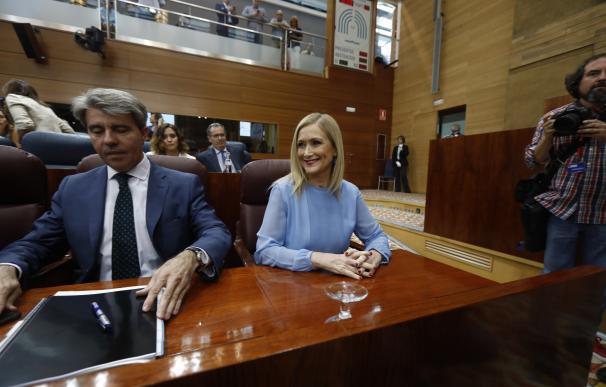 """Garrido defiende la ausencia de Cifuentes en la reunión y dice que """"nadie tiene en mente la ruptura del acuerdo"""""""