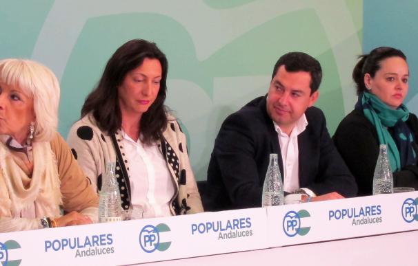 """Moreno dice que Andalucía tiene """"un gobierno de cartón piedra"""" con Díaz pensando en Madrid y Marín (C's) de portavoz"""