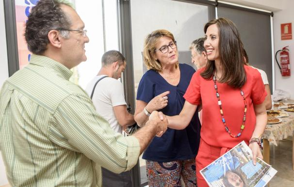 La Asociación 'A Toda Vela' presenta sus planes de formación y empleo a la Diputación Provincial
