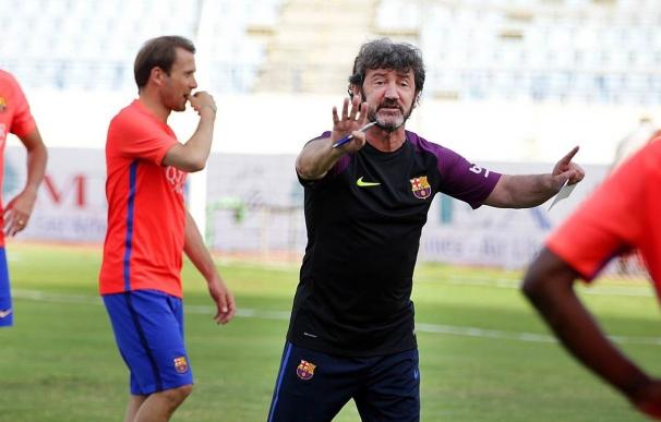 """Bakero quiere que se disfrute a los Barça Legends y Nadal asegura que """"no faltará calidad"""""""