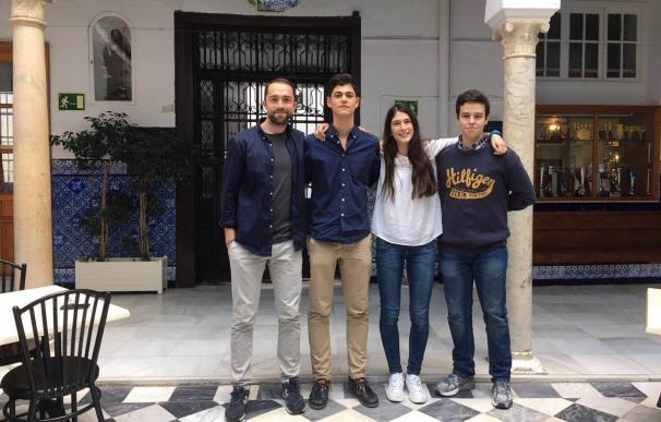 Alumnos del 'San Francisco de Paula' participarán en la Fase Nacional del certamen Joven Parlamento Europeo