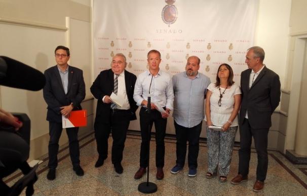 PSOE, Unidos Podemos y ERC plantan al PP en la comisión de investigación de partidos del Senado