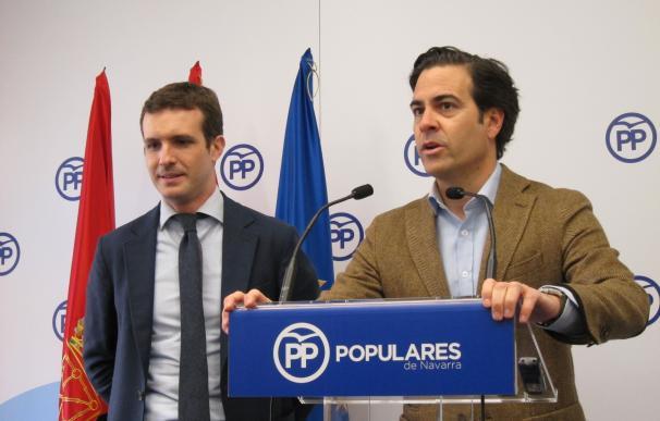 Pablo Zalba evita ahora confirmar si optará o no a presidir el PPN en el próximo congreso regional