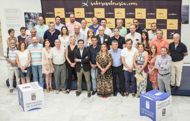 La Diputación aprobará este viernes en pleno el Reglamento de Uso de la marca gourmet 'Sabores Almería'