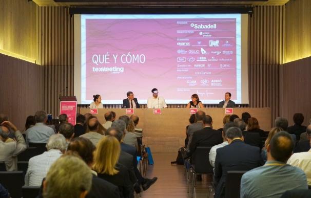 El sector textil debate las oportunidades de la industria 4.0 en el TexMeeting de Barcelona