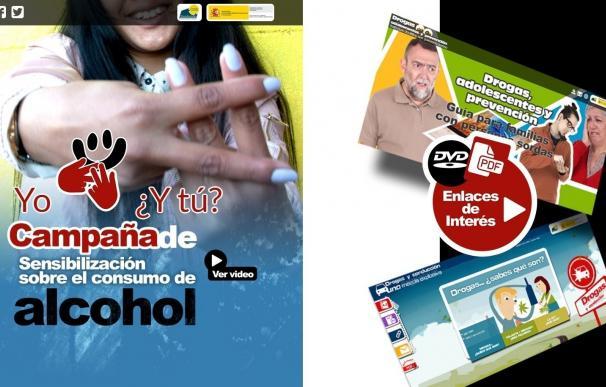 La Fundación CNSE y la FAD ponen en marcha una campaña para prevenir el consumo de alcohol entre adolescentes sordos