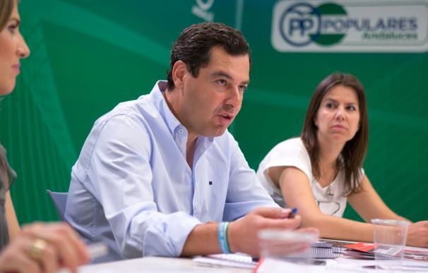 """Moreno dice que colaborará para que Andalucía tenga """"la mejor financiación"""" pero pide a Junta """"rigor"""" en las cuentas"""