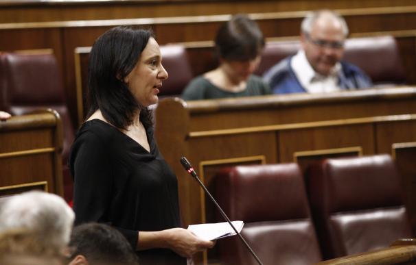 La diputada de Podemos Carolina Bescansa sale ilesa de un accidente de tráfico con un autobús en la A-6