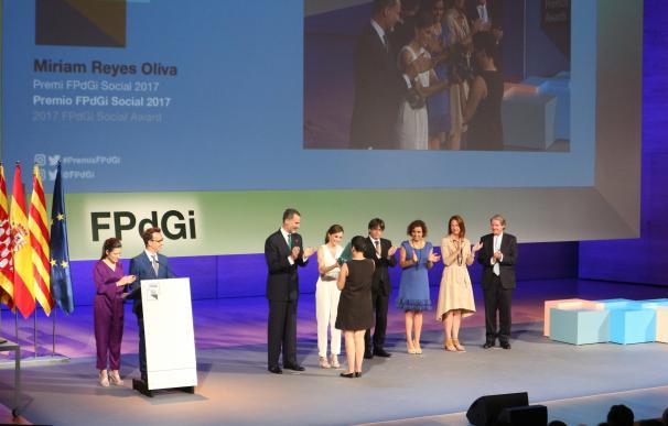 El Rey afirma que los Premios FPdGi seguirán reafirmando los valores de Cataluña en 2018