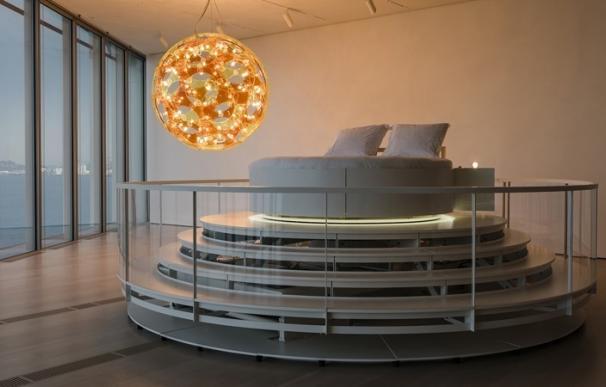 El Centro Botín ofrece la posibilidad de dormir en el edificio por 250 euros, en una cama de la muestra de Höller