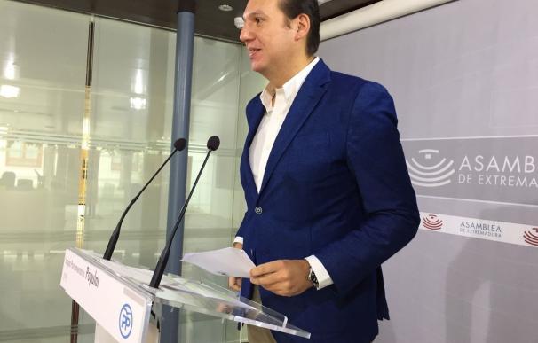 """El PP alerta de """"consecuencias"""" para los ciudadanos por el """"incumplimiento continuado"""" de """"compromisos fiscales"""" de Vara"""