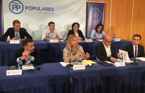 El PP acudirá a los tribunales para impedir el uso del asturiano como lengua vehicular en los colegios