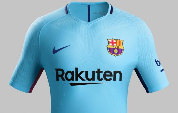 El azul vivo y referencias a su cultura protagonizan la segunda equipación del FC Barcelona