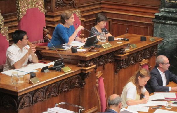 Ada Colau presidirá el pleno de Barcelona de este viernes aunque seguirá de permiso de maternidad