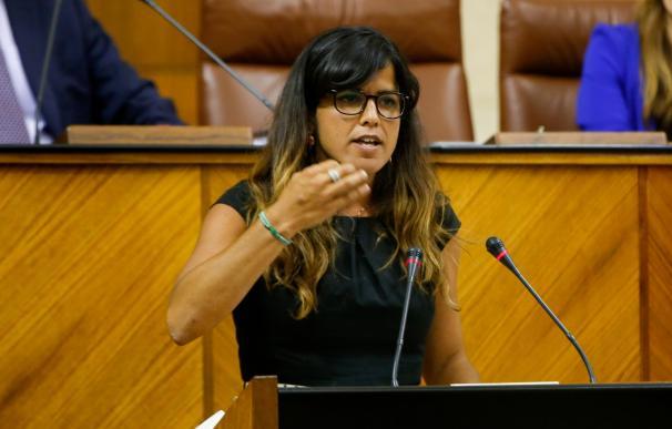 """Teresa Rodríguez, dispuesta a llegar a """"acuerdos puntuales"""" con el PSOE-A, rechaza cogobernar en Andalucía"""