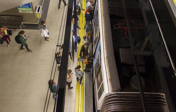 El sindicato de Maquinistas habla de 100% de seguimiento en la huelga y Metro rebaja la participación