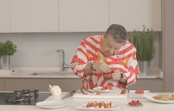 Chicote crea tres recetas saludables para los pacientes con diabetes tipo 2 en la campaña 'Diabetes por tu corazón'