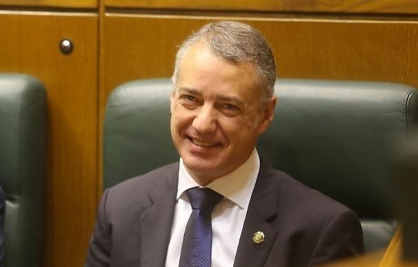 """Urkullu afirma que le une con Puigdemont la necesidad de que el Estado reconozca sus """"realidades nacionales diferentes"""""""