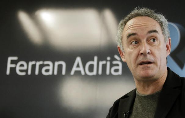 """Ferran Adrià asegura que """"si en occidente no comemos bien es porque no queremos"""""""