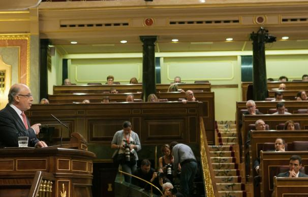 Debate de los Presupuestos Generales del Estado en el Congreso.
