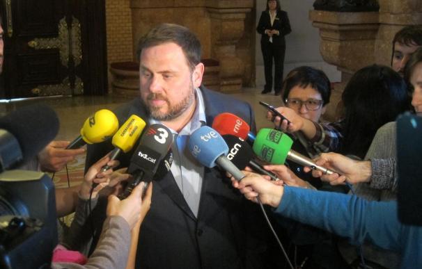 Junqueras propone una lista común de izquierda independentista el 27S