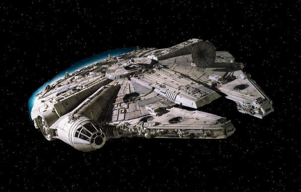 El Halcón Milenario de Star Wars