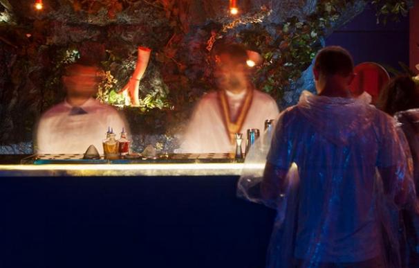 En un bar de Londres el alcohol se respira