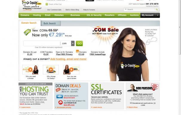 Go Daddy pierde 21.000 clientes por su apoyo a la ley SOPA