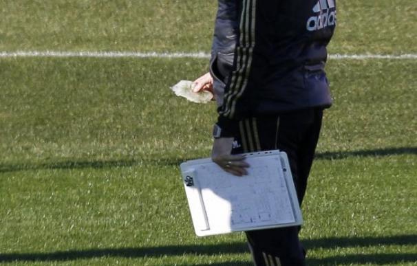 El Real Madrid quema calorías pensando en el Málaga y la Copa del Rey