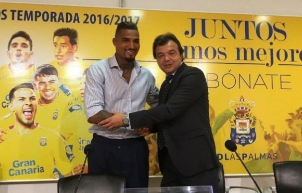 """Boateng: """"Agradezco la insistencia de Las Palmas para convencerme"""""""