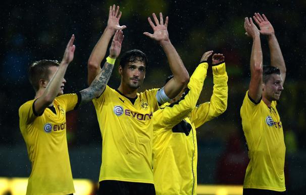 El Dortmund golea al Hertha Berlín (3-1) y sigue líder por delante del Bayern de Múnich