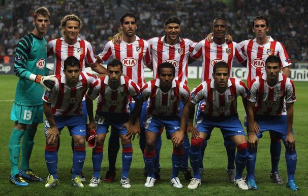 Inter de Milán 0 - 2 Atlético de Madrid.