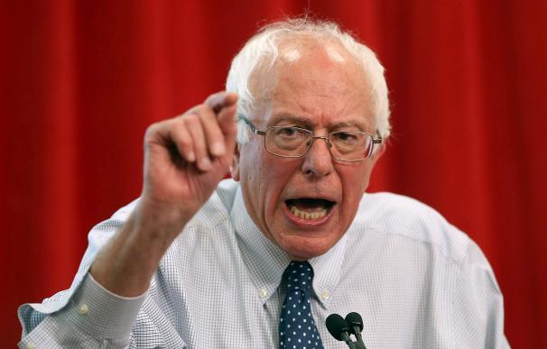 Bernie Sanders, el senador demócrata 'rival' de Hillary Clinton.