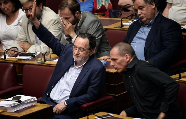 Former Greek energy minister Panagiotis Lafazanis