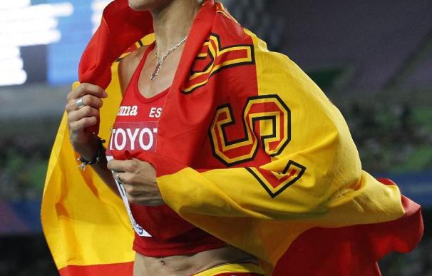 Natalia Rodríguez y Olmedo, mejores atletas españoles del año