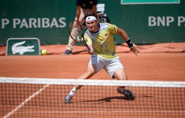 Ferrer progresa ante Cilic para avanzar a cuartos en Roland Garros