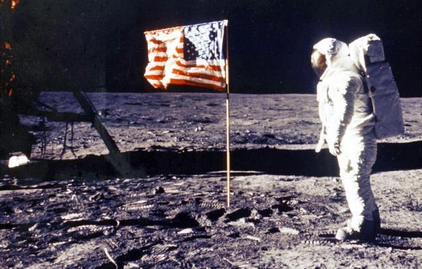 Aldrin en la luna (1969)