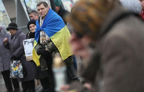 Ucrania conmemora el primer aniversario de los asesinatos de Maidan