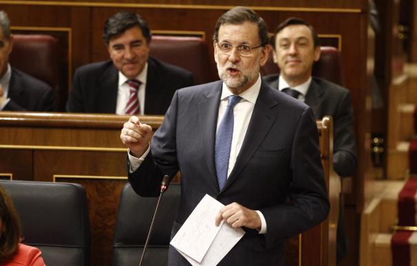 """Rajoy coincide con Linde en que hay que """"estimular el ahorro"""" en planes de pensiones privados"""
