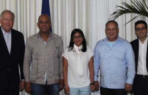 Responsables de Venezuela y EEUU se reúnen en Haití para intentar superar la crisis bilateral