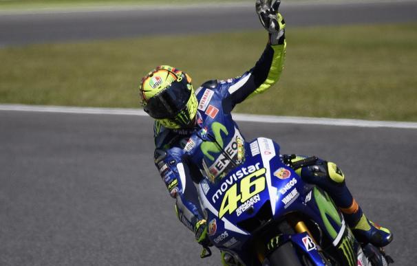 Rossi consigue su primera pole de la temporada.