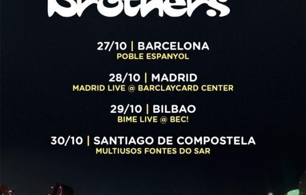 The Chemical Brothers, en octubre en Barcelona, Madrid, Bilbao y Santiago